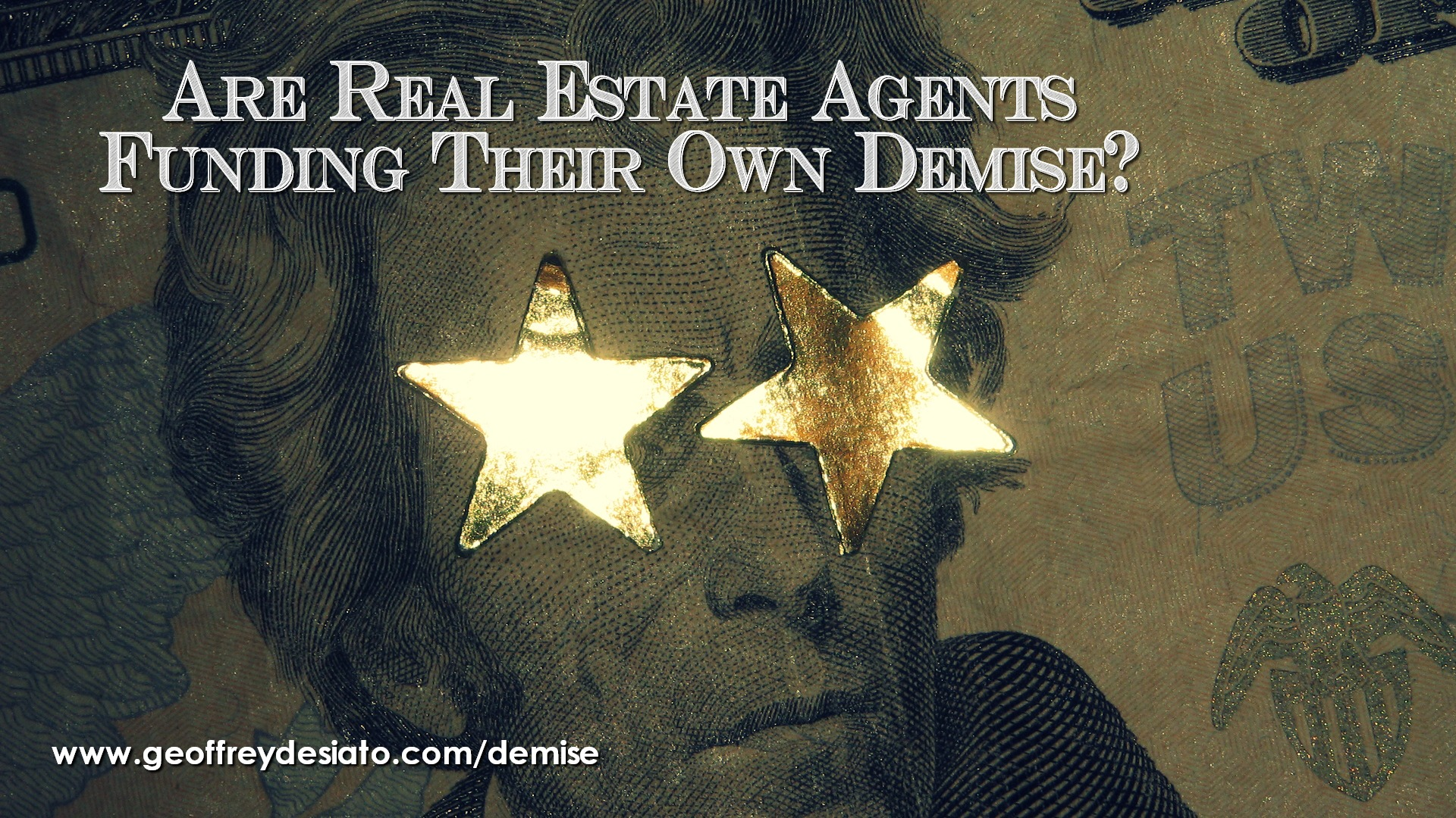 Are Real Estate Agents Funding Their Own Demise